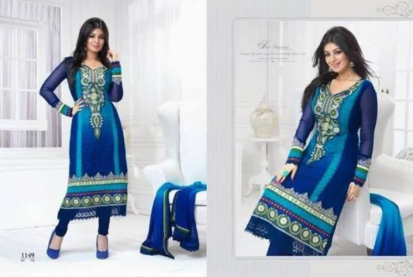 New Salwar Kameez Collection 2013 Ayesha Takia in Natasha Couture