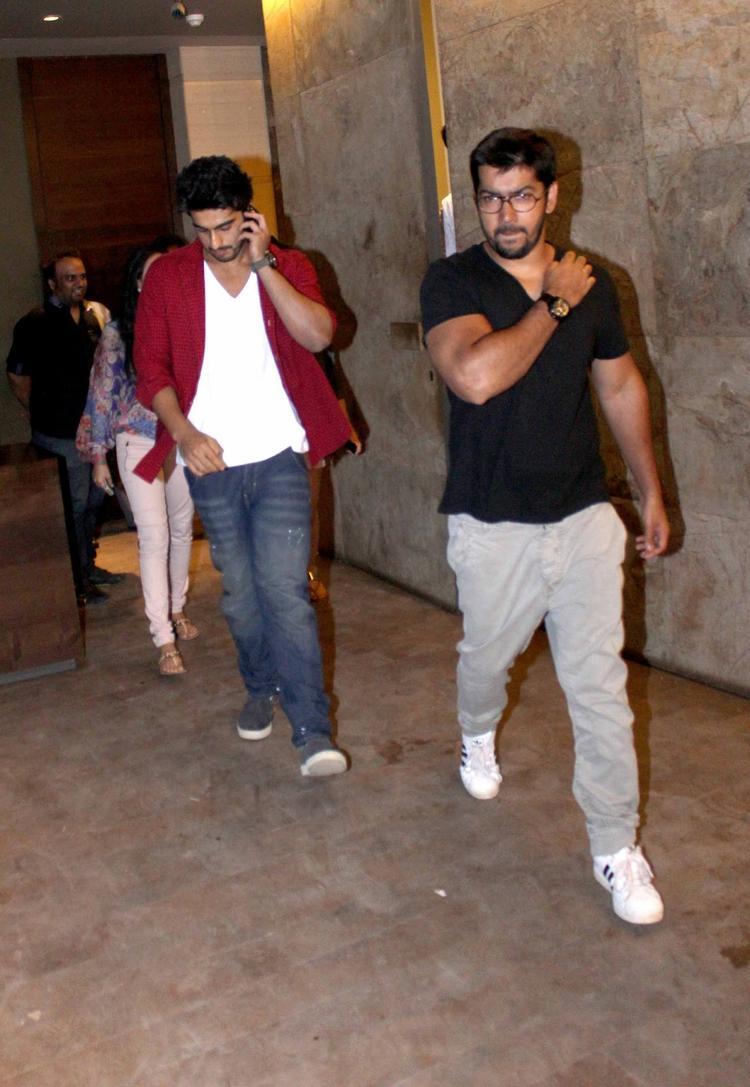 Arjun Kapoor Graced Special Screening Of Ramaiya Vastavaiya