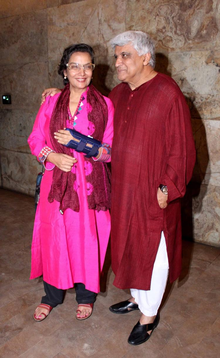 Sweet Couple Attend The Special Screening Of Ramaiya Vastavaiya