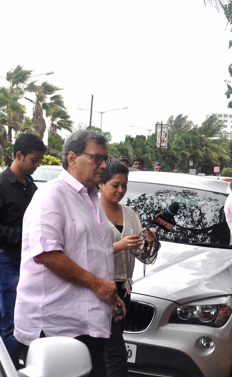 Subhash Ghai Spotted At Rajesh Khanna's First Death Anniversary
