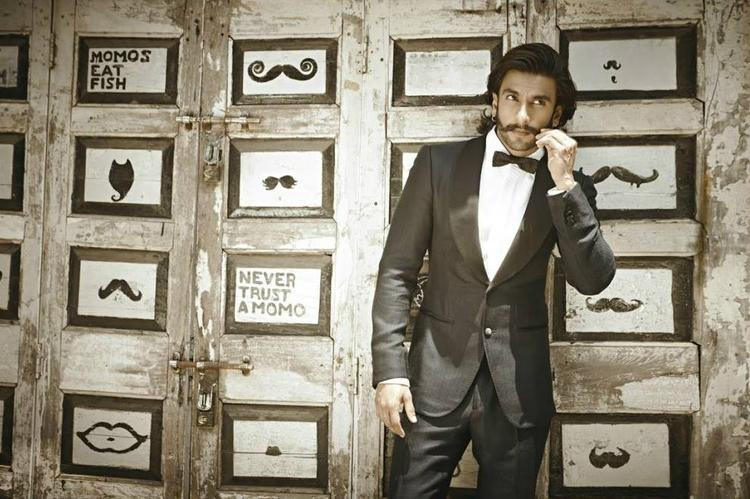 Ranveer Singh Moustache Look Photo Shoot For People Magazine July 2013
