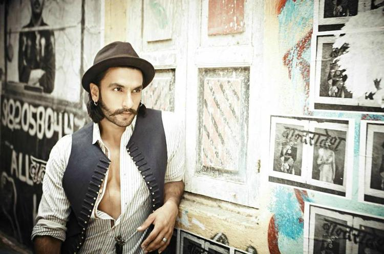 Ranveer Singh Nice Look Photo Shoot For People Magazine July 2013