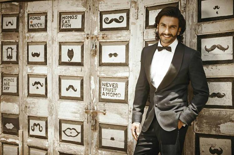 Ranveer Singh Sweet Smiling Look Photo Shoot For People Magazine July 2013