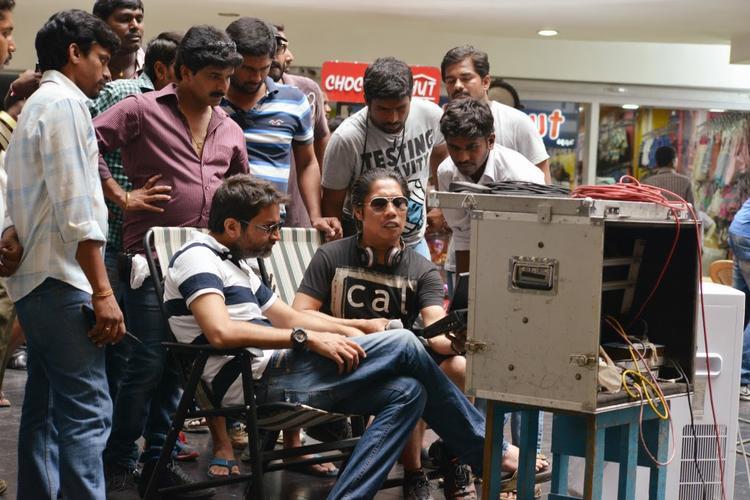 Attarintiki Daredi Movie Shooting Set Pic