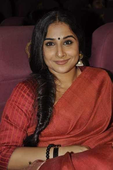 Vidya Balan Beautiful Look At Zakir Hussain Live Musical Concert 2013