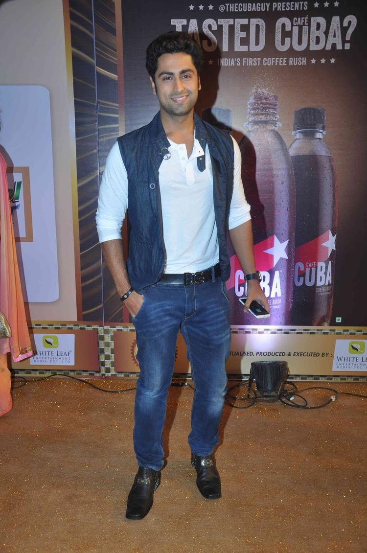 Ankit Gera Looking Handsome At Boroplus Gold Awards 2013