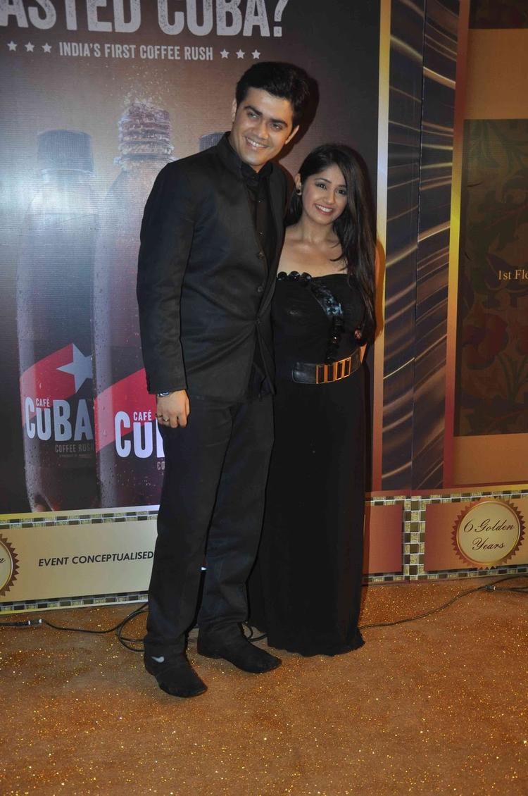 Chandni And Nishad Graced At The Boroplus Gold Awards 2013