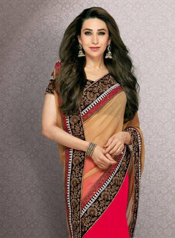 Karisma Kapoor's Latest Photoshoot For An Indian Designer Wear