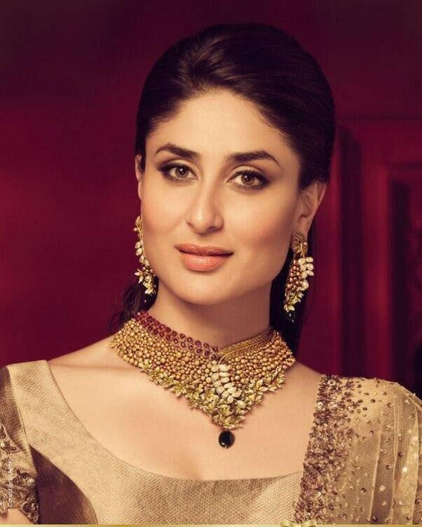Kareena Looking So Gorgeous And Beautiful In Malabar Jewellery Ads Shoot