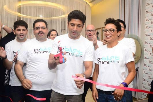 Farhan Akhtar And Adhuna Akhtar Inaugurate B:Blunt Mini