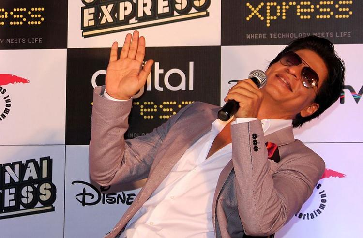 SRK Cool Look At The Chennai Express Disney Game Launch Event