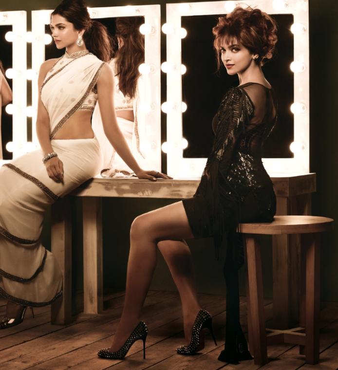 Deepika Padukone Glamour Sexy Look Photo Shoot For Femina India August 2013 Issue