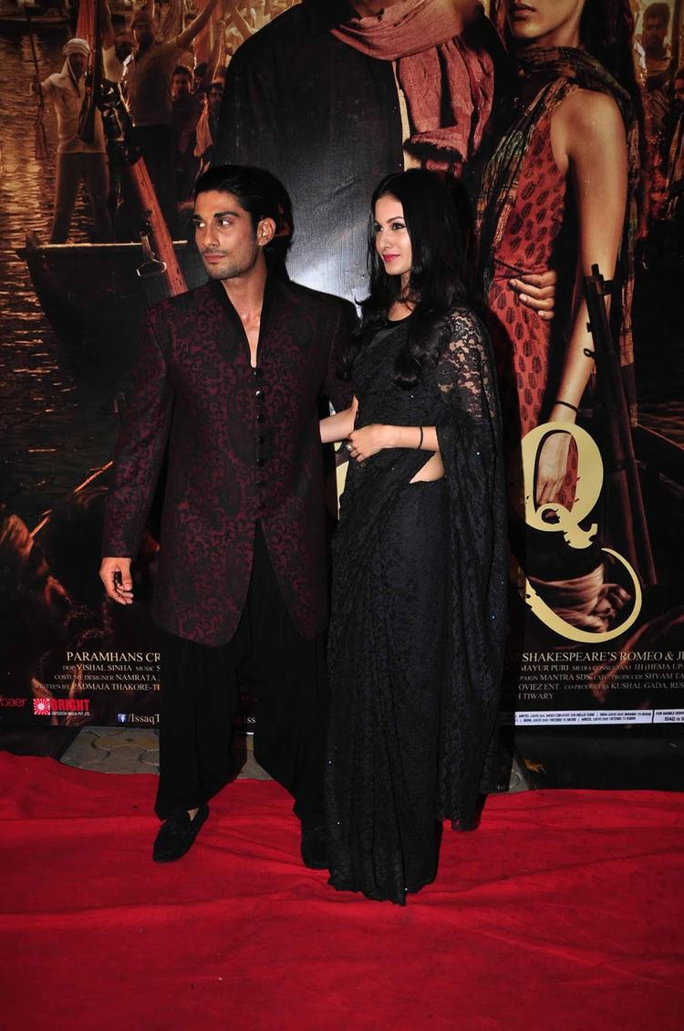 Prateik And Amyra Snapped At The Premiere Of  Issaq On Red Carpet