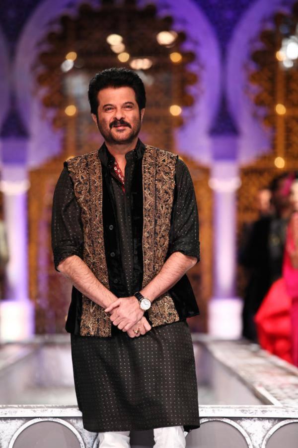 Anil Kapoor Who Showstopper For Designer Raghavendra Rathore At IBFW