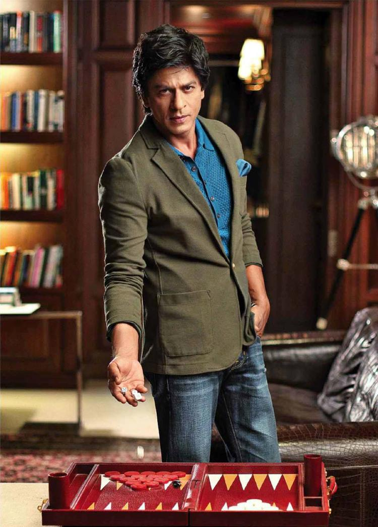 SRK Cool Dappers Look For Filmfare Magazine August 2013 Issue