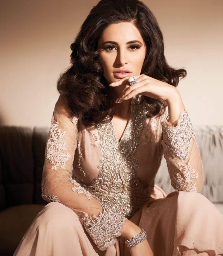 Nargis Fakhri Cute Charming Look Photo Shoot For Hi Blitz India August 2013