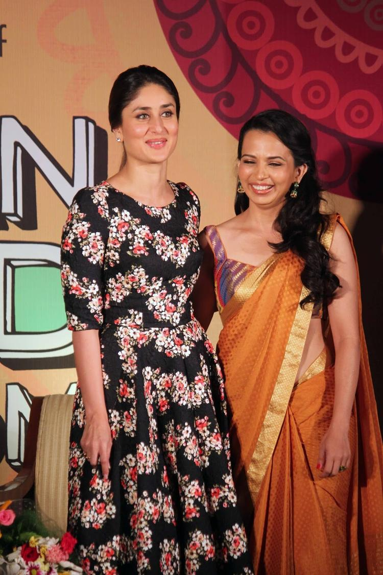 Kareena Launches Rutuja Diwekar's DVD Indian Food Wisdom And The Art Of Eating Right