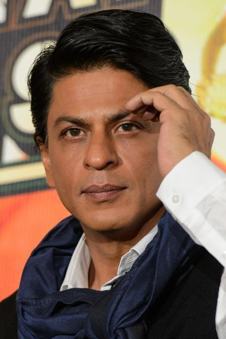 SRK Nice Dazzling Look During The Promotion Of Chennai Express In London