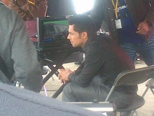 Randeep Hooda Present On The Sets Of Kick At Glasgow