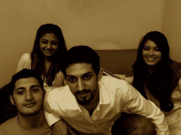 Harsha Sagar And Diana Penty Rare Pic With Their Friends