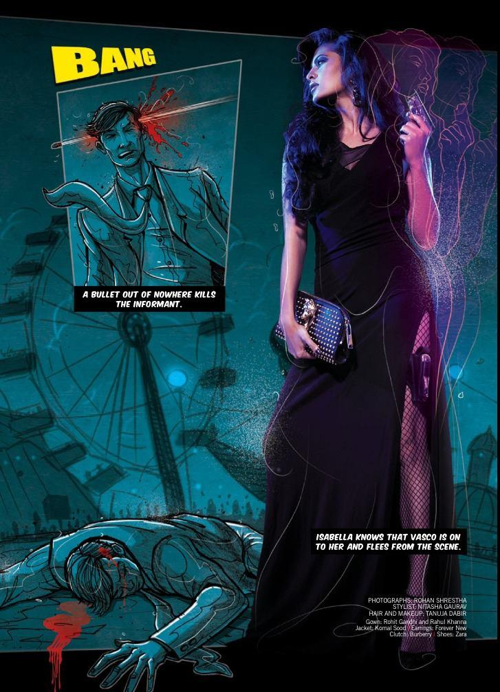 Jacqueline Fernandez Latest Hot Kill Pose For Filmfare 2013