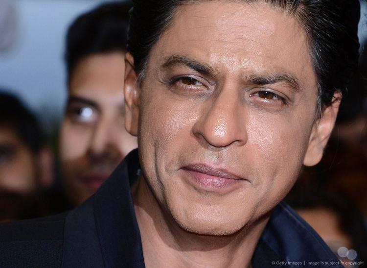 SRK Cute Handsome Look At Cineworld Feltham In London During The Promotion Of Chennai Express