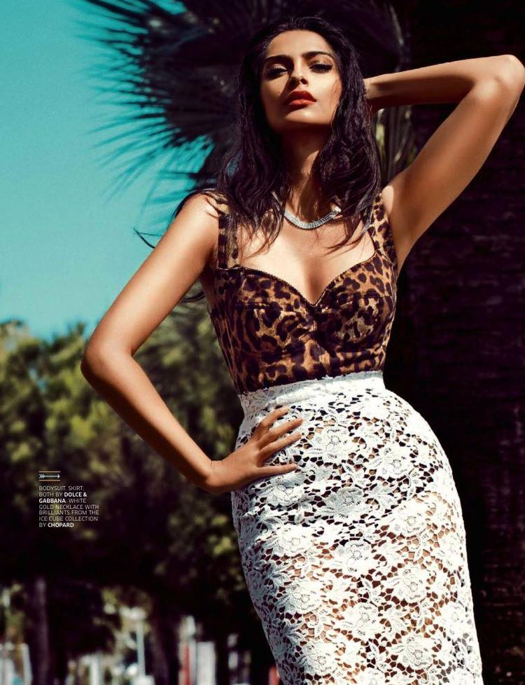 Sonam Kapoor Ravishing Sexy Look For GQ India August 2013 Issue