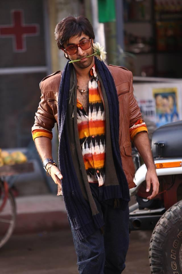 Bollywood Heartthrob Ranbir Kapoor Cute Still From The Movie Besharam