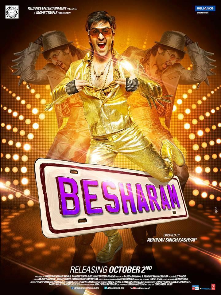 Latest Poster Of Besharam Ranbir Kapoor Naughty Still
