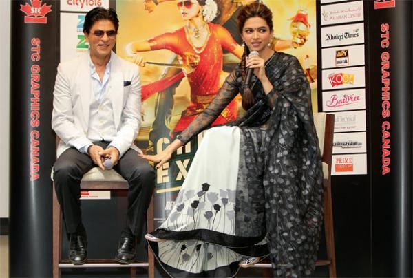 SRK And Deepika Visits Dubai For Promoting Chennai Express