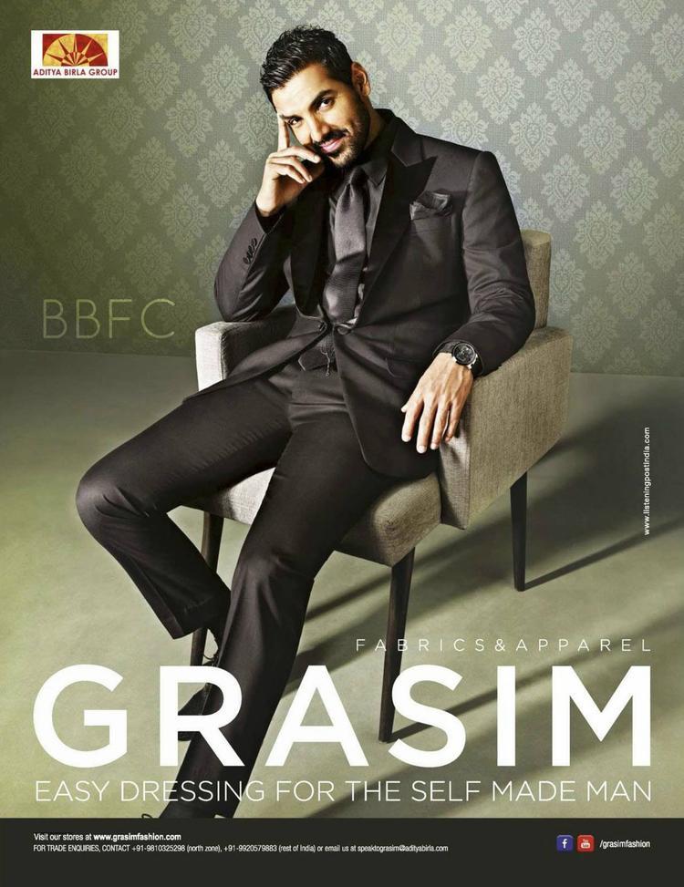 Handsome Gorgeous John Abrahams Latest Ad For Grasim