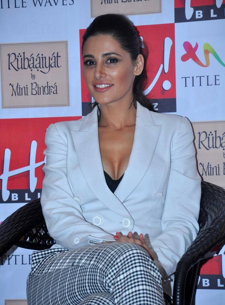 Nargis Fakhri Launched The August 2013 Issue Of Hi! Blitz Officially At Mumbai