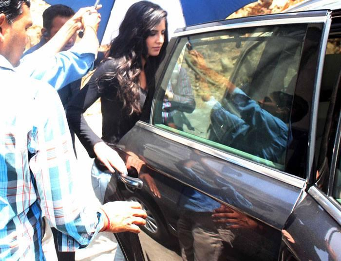 Katrina Kaif Tried To Sneak From The Back Door
