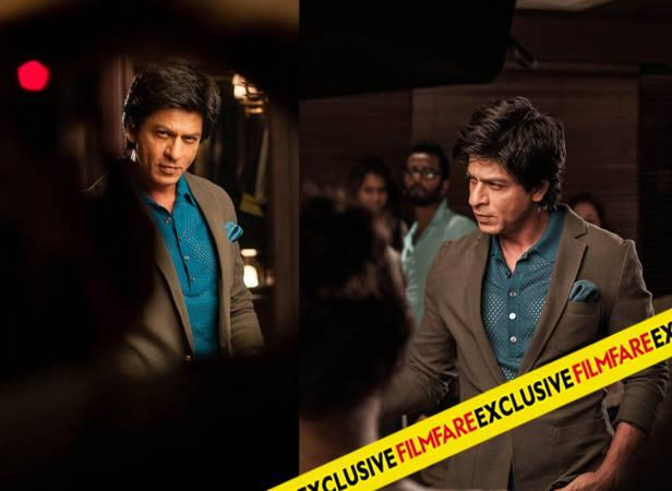 SRK Dappers Look In Suit On The Sets Of Filmfare Magazine August 2013 Issue Photo Shoot