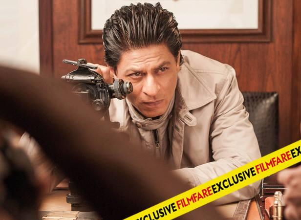 SRK Stylish Hair Style On The Sets Of Filmfare Magazine August 2013 Issue Photo Shoot