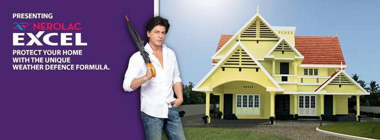 SRK Nice Pose For Kansai Nerolac Paint Ad
