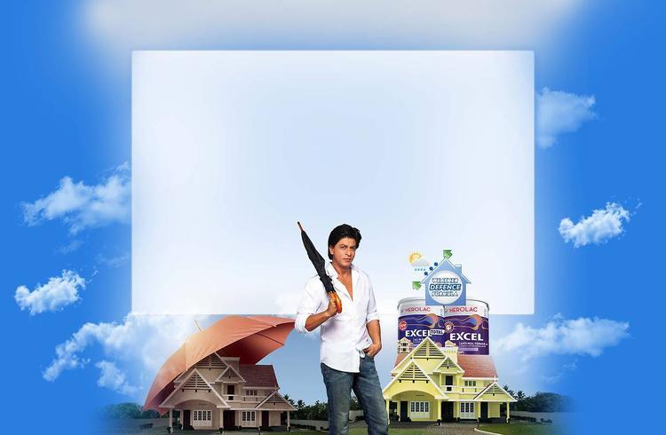 SRK Samrt Look Pose For Kansai Nerolac Paint Ad