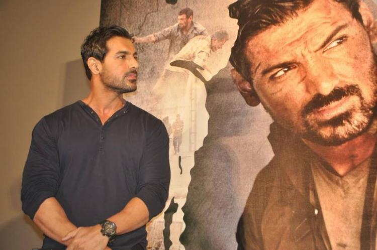 John Abraham At Madras Cafe Tamil Press Meet