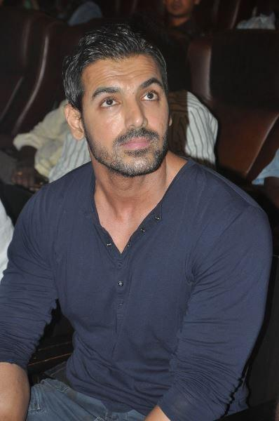 John Abraham Nice Look During The Press Meet Of Madras Cafe