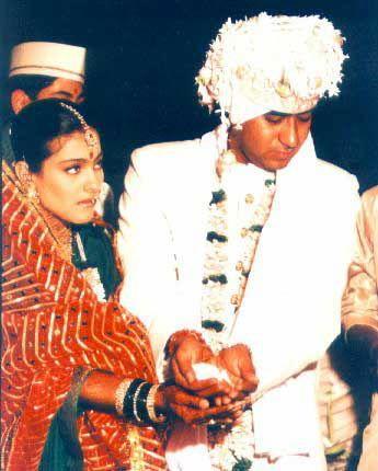 Kajol Devgan And Ajay Devgan Wedding Ritual Latest Pic