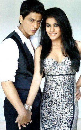 Kajol Devgan And Shahrukh Shoot For Magazine