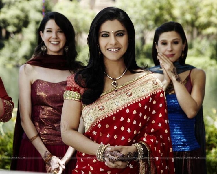 Kajol Looking Marvellous In Red Saree
