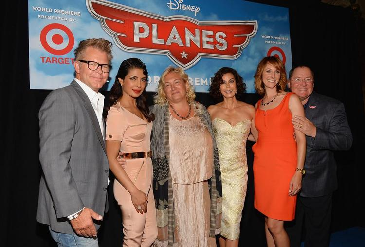 Klay,Priyanka,Teri Hatcher,John Lasseter And Others Graced At The Premiere Of Disney's Planes