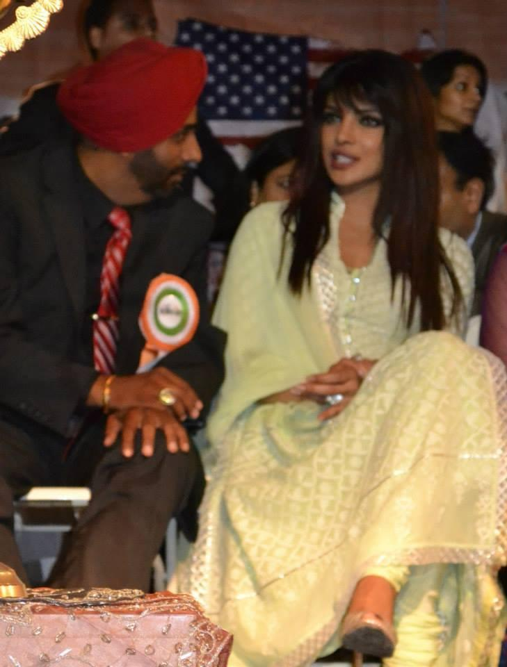Priyanka Chopra Discussion At The India Day Parade 2013 In LA