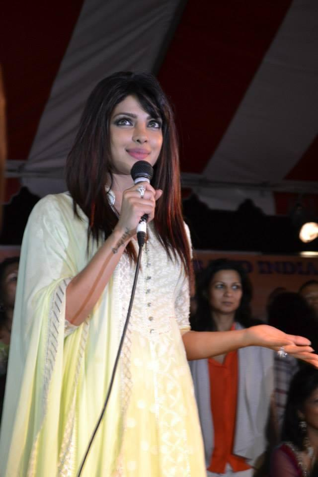 Priyanka Chopra Speaking During The India Day Parade 2013 In LA