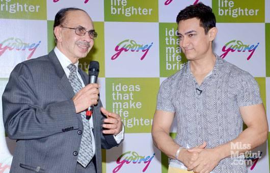 Aamir Khan As The Godrej Group Brand Ambassador