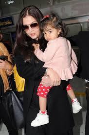 Aaradhya And Aishwarya Spotted At Mumbai Airport