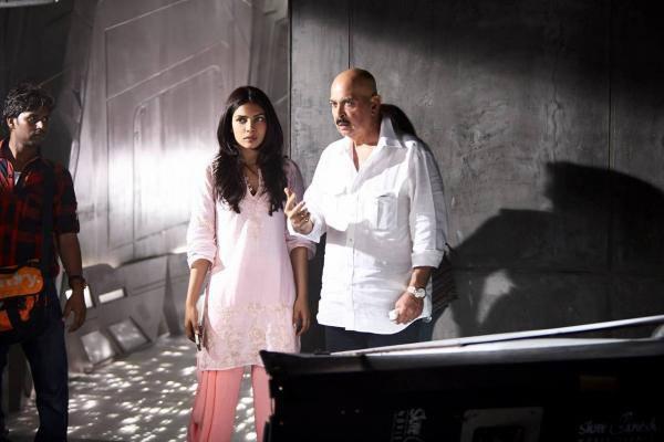 Rakesh And Priyanka On The Sets Of Krrish 3