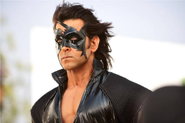 Superhero Hrithik Roshan Latest Still In Krrish 3