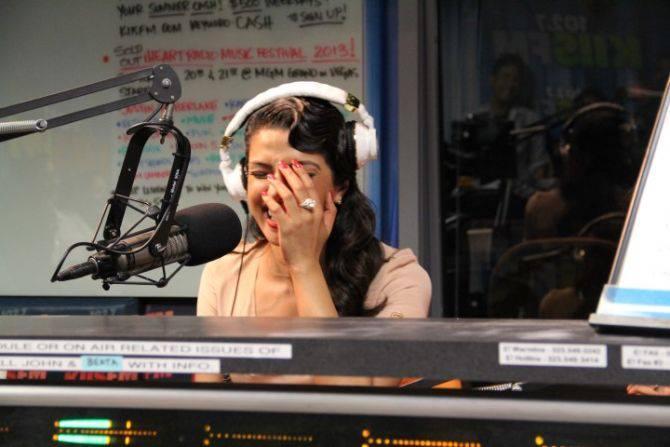 Priyanka Chopra Cool Laughing In 1027kiis FM At LA